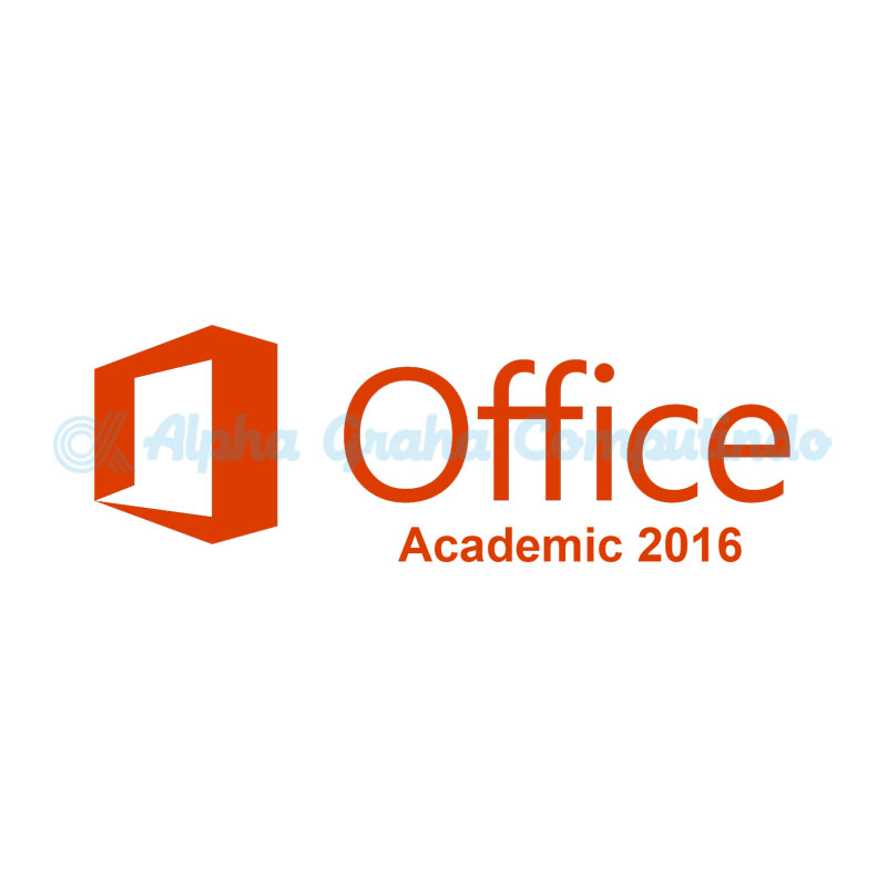 Microsoft [Office Standard]Office 2016 Sngl Academic OLP 1License NoLevel[Pendidikan][021-10539]