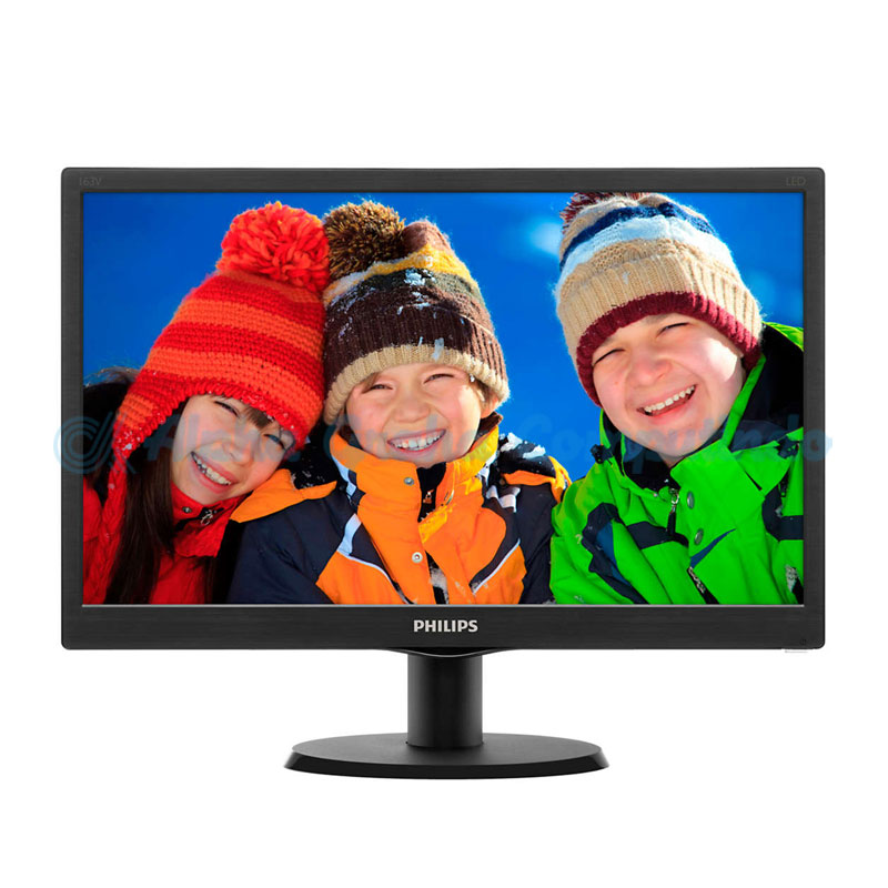 PHILIPS Monitor 18.5-Inch 193V5LHSB2