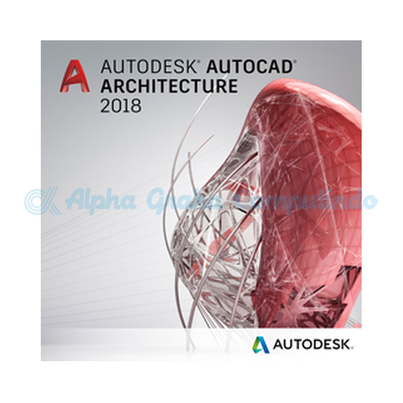 AUTODESK AutoCad Architecture Commercial Multiuser 2Year Subscription Renewal [185I1-00N596-T256]