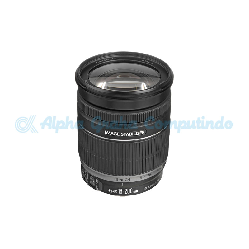 Canon  Lens EF-S 18-200mm f3.5-5.6 IS