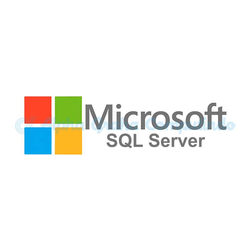Microsoft [SQL Server Standard Edition]SQLServerStandardEdition Sngl License/SoftwareAssurancePack Academic OLP 1License NoLevel[Pendidikan][228-04644]