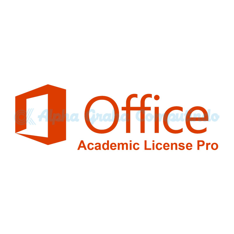 Microsoft   [Office Professional Plus]OfficeProfessionalPlus Sngl License/SoftwareAssurancePack Academic OLP 1License NoLevel[Pendidikan][269-05584]
