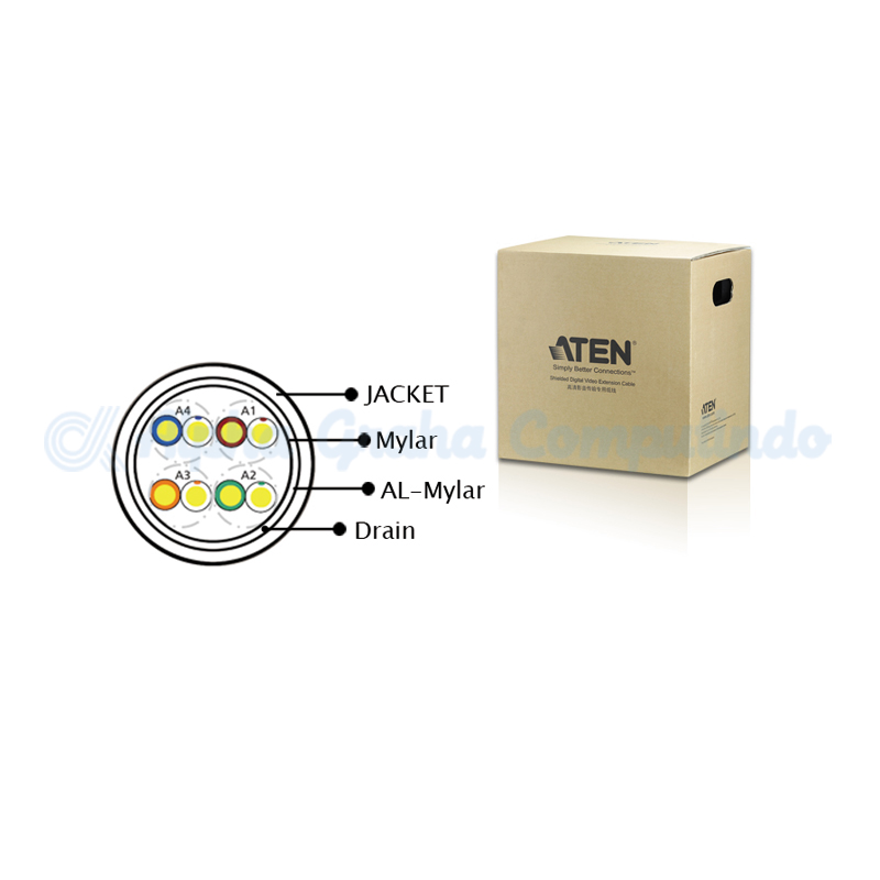 ATEN Shielded Digital Video Extension Cable. 300m [2L-2901]
