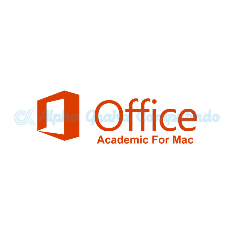 Microsoft   [Office Mac Standard]OfficeMacStandard Sngl License/SoftwareAssurancePack Academic OLP 1License NoLevel[Pendidikan][3YF-00262]