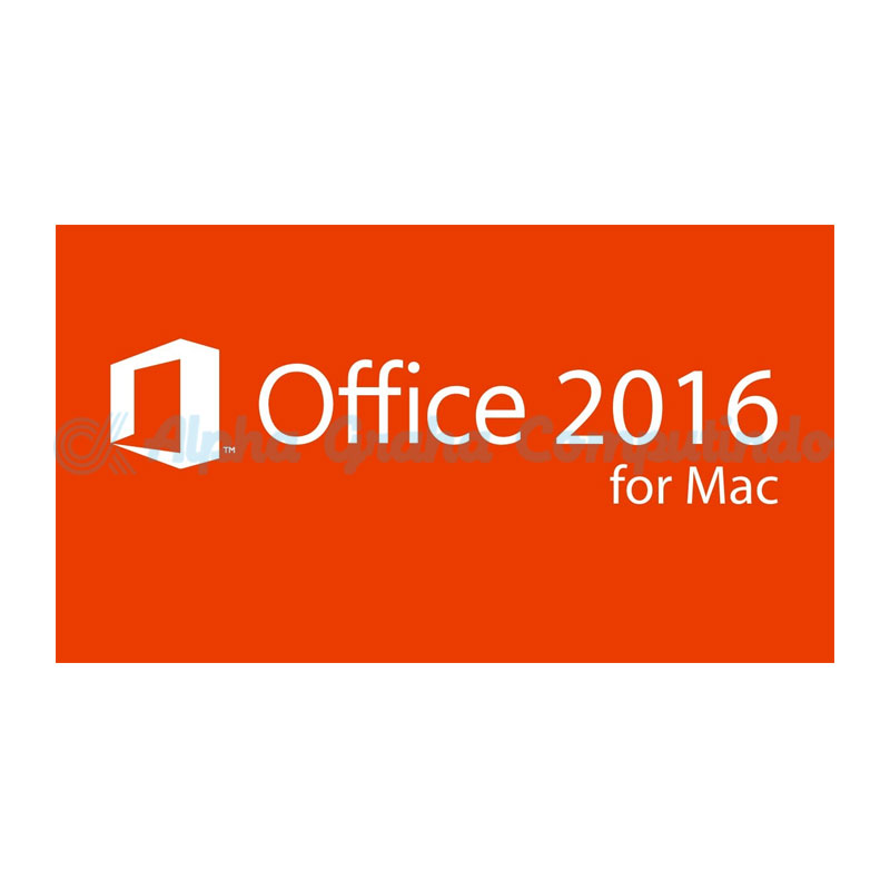 Microsoft [Office Mac Standard]OfficeMacStandard 2016 Government OLP 1License NoLevel [Government][3YF-00542]