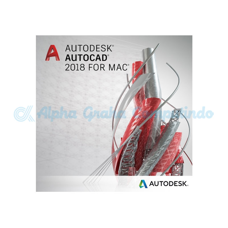 AUTODESK AutoCad For Mac Commercial Maintenance Plan (1 year) (Renewal) [777C1-000110-S003]