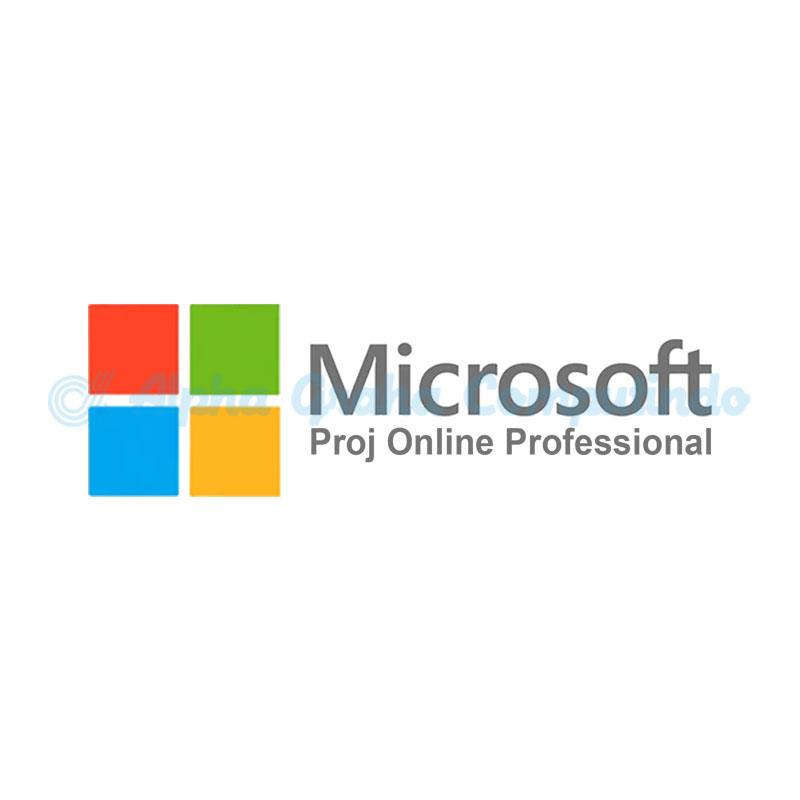 Microsoft  [Proj Online Professional Open Fac]ProjOnlineProfessionalOpenFac ShrdSvr AllLng MonthlySubscriptions-VolumeLicense Academic OLV 1License LevelE AdditionalProduct 1Month[Pendidikan][Berlangganan][7LA-00001]