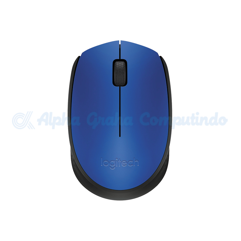 Logitech M171 - Blue Wireless Mouse [910-004656]