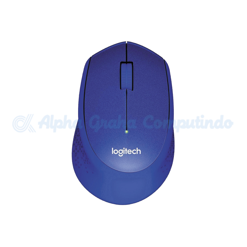 Logitech Wireless Silent Mouse M331 - Blue [910-004915]