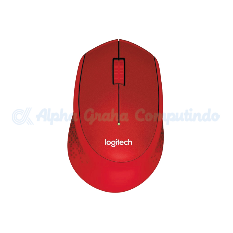 Logitech Wireless Silent Mouse M331 - Red [910-004916]