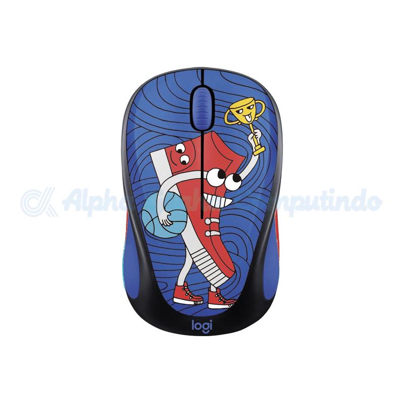 Logitech M238 Doodle Collection - Sneaker Head [910-005058]