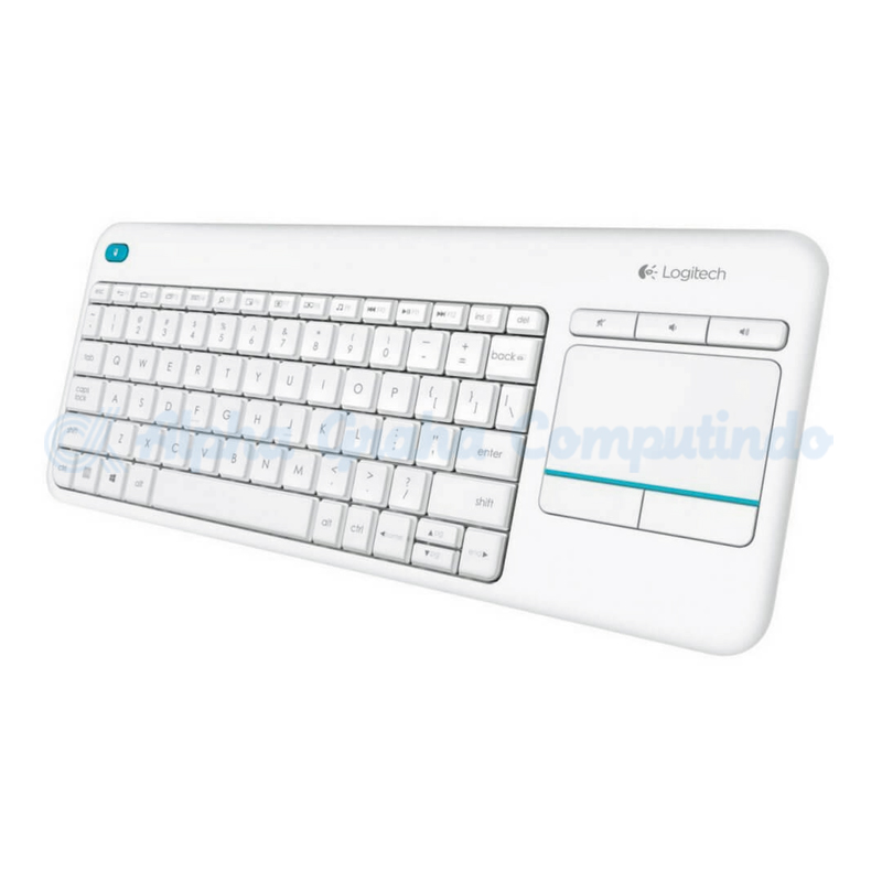 Logitech K400 Plus Wireless Touch Keyboard - White - AP [920-007166]