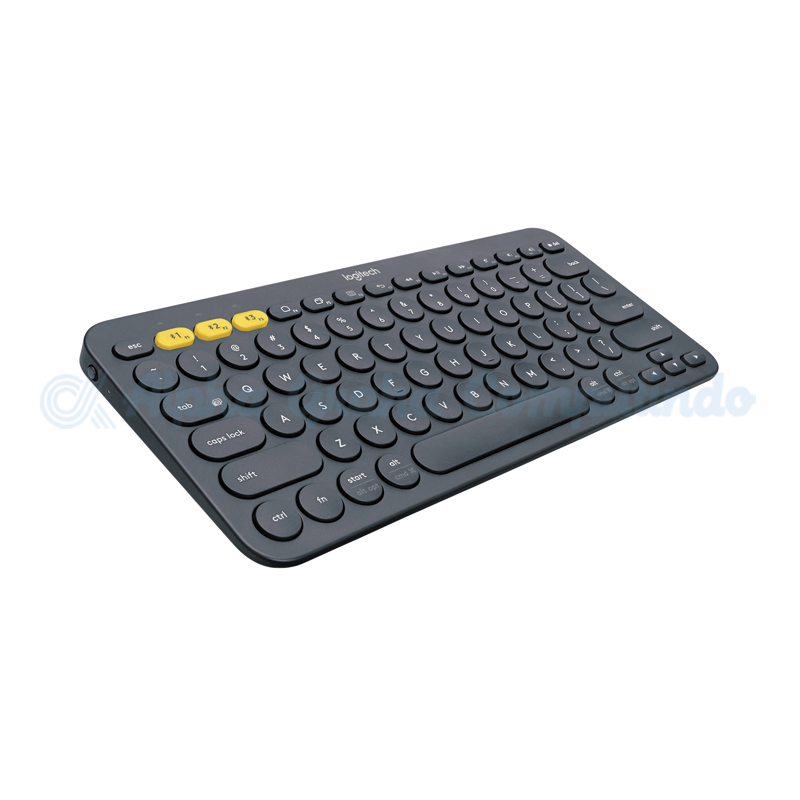 Logitech K380 MultiDevice Keyboard - Black [920-007596]