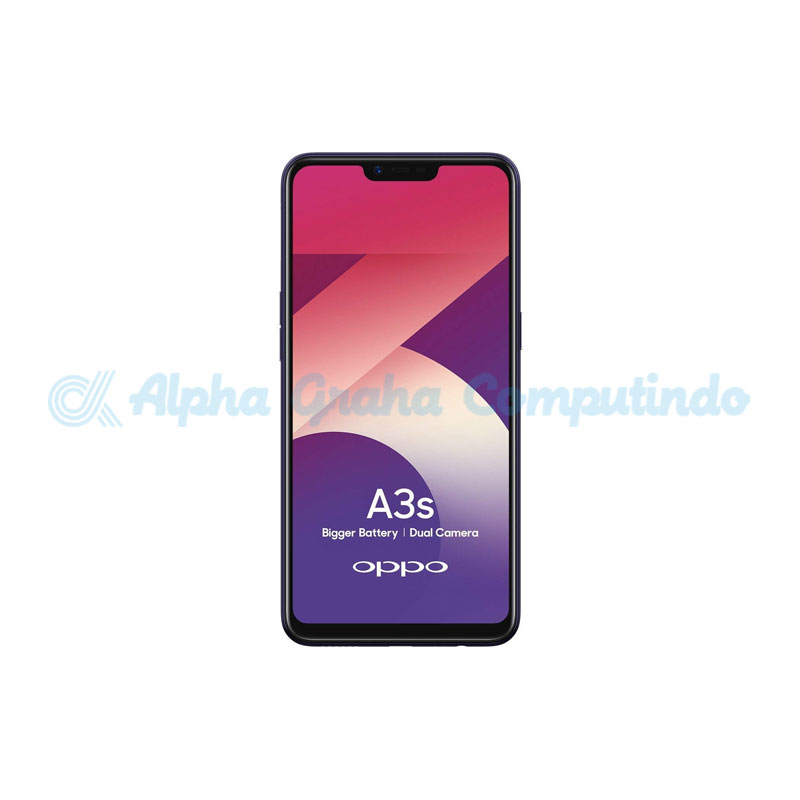 Oppo A3s CPH1803 2GB RAM 16GB ROM Purple