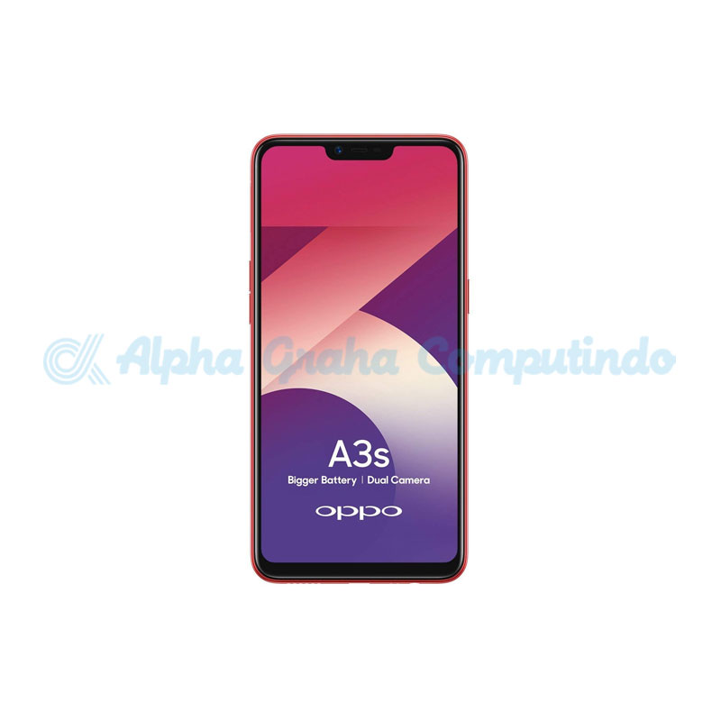 Oppo  A3s CPH1803 2GB RAM 16GB ROM Red