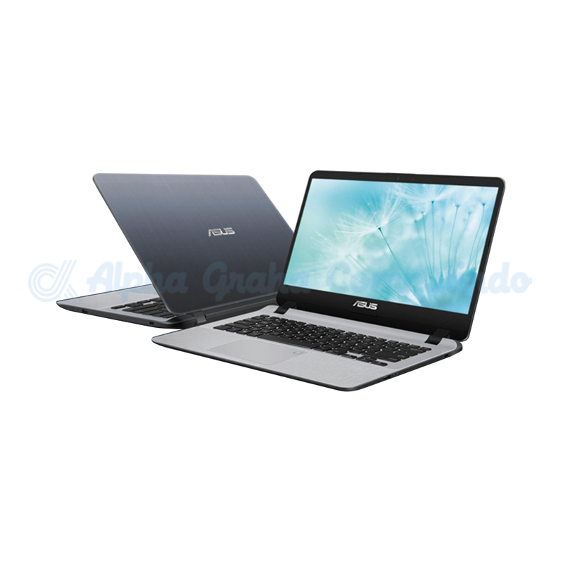 Asus  A407UA-BV390T i3-7020U 256GB 4GB Fingerprint [90NB0HP1-M05540/Win10] Star Grey