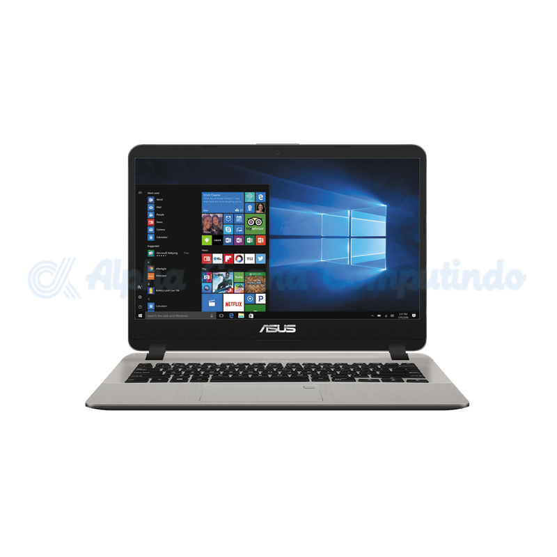 Asus VivoBook A407MA-BV422T N4000 4GB 256GB Fingerprint Win10 - Icicle Gold