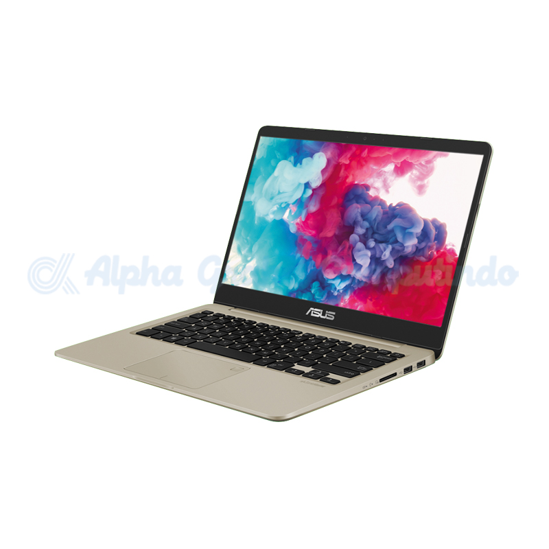 Asus  VivoBook 14 A411UF-BV228T i3-7100U 1TB 4GB MX130 [90NB0II4-M02830/Win10] Gold