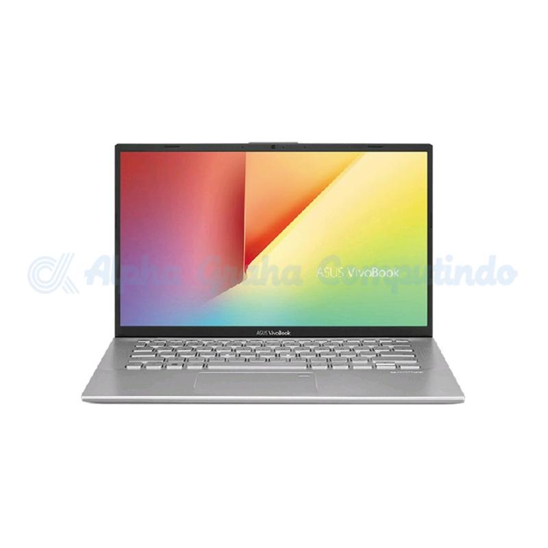 Asus  VivoBook A412DA-EK551T R5-3500U 8GB 512GB Vega8 Fingerprint Win10 - Transparant Silver
