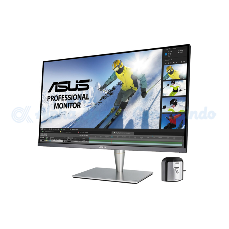 Asus  32-inch ProArt PA32UC-K 4K HDR Professional Monitor with X-rite i1 Display Pro [90LM03H0-B02310]