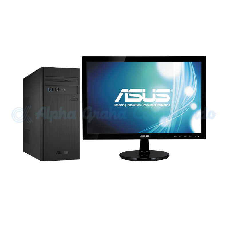 Asus  Desktop PC S340MC-I38411000T i3-8100 4GB 1TB GT710 19.5-inch LED [90PF01C1-M17380/Win10]