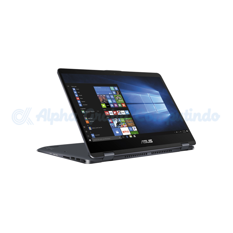Asus  VivoBook Flip 14 TP410UF-EC027T i7-8550U 8GB 1TB+128GB MX130 Win10 14-inch Touch Star Grey [90NB0IS1-M00320]