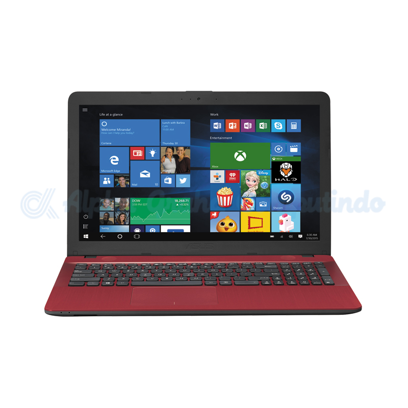 Asus Notebook X441UB-GA313T i3-7020U 4GB 1TB MX110 Win10 14-inch Red [90NB0ID5-M00870]