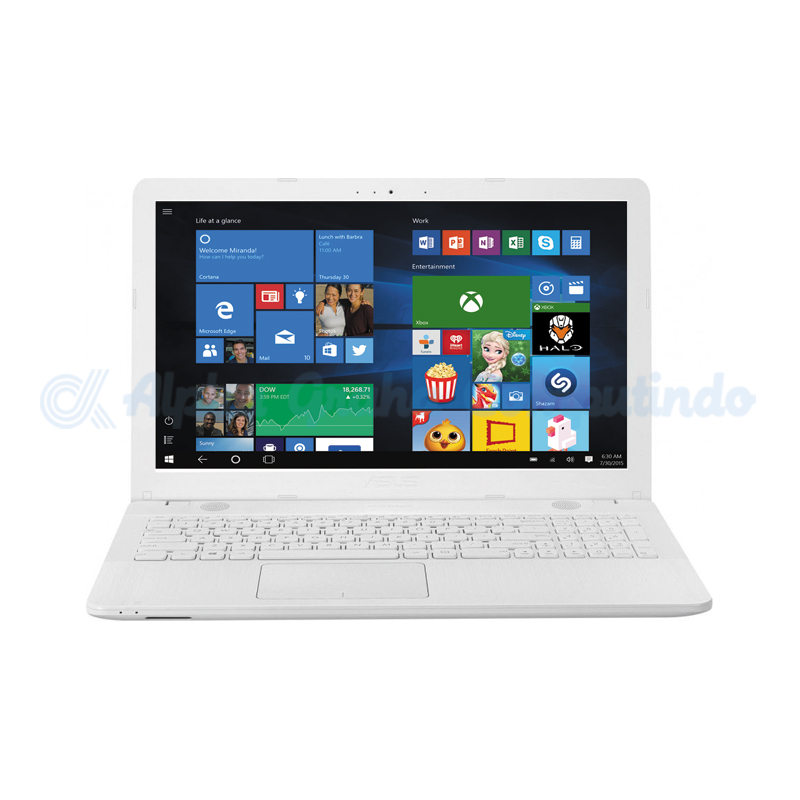 Asus Notebook X441UB-GA314T i3-7020U 4GB 1TB MX110 Win10 14-inch White [90NB0ID3-M00880]