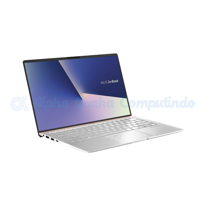 Asus  ZenBook 14 UX433FA-A5802T i5-8265U 8GB 256GB Win10 14-inch Icicle Silver [90NB0JR3-M01250]