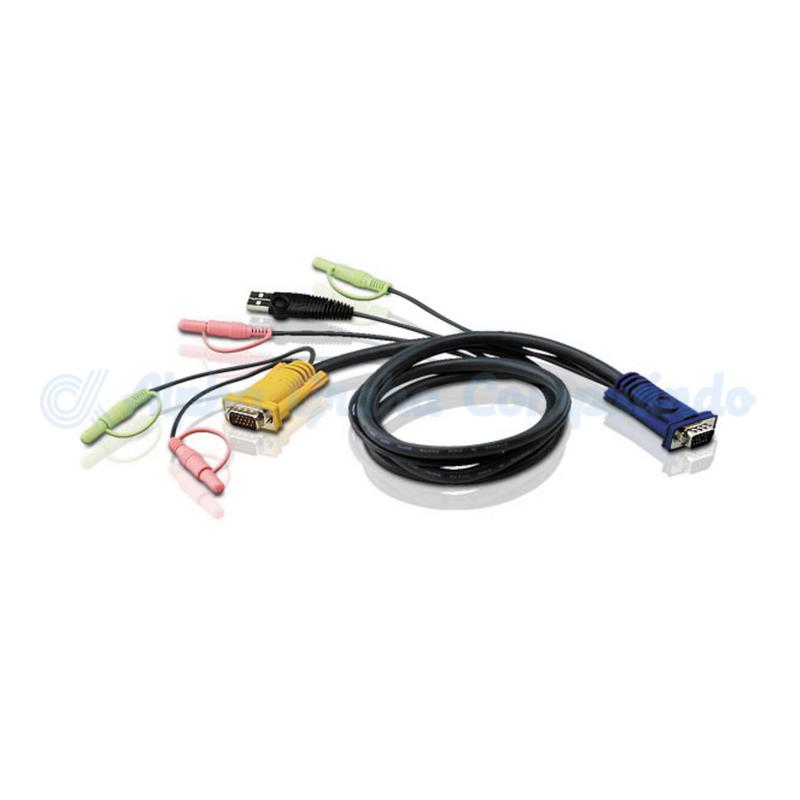 ATEN   USB KVM Cables 11.8m CS-1734A/B [2L-5302U]