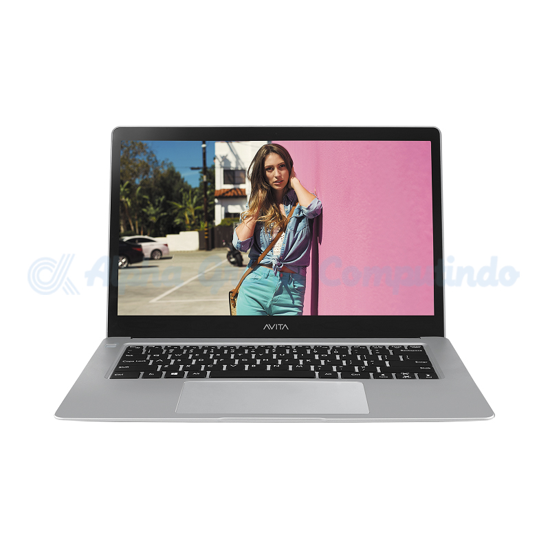 AVITA Liber 14-inch N4000 4GB 128GB Win10 Cloud Silver [NS14A2ID062P]