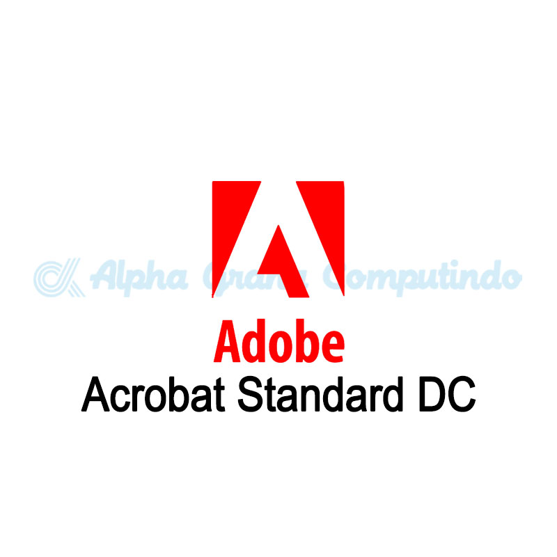 Adobe  Acrobat Standard DC for teams - 1 Year Subscription Level 1- GOV [65297919BC01A12]