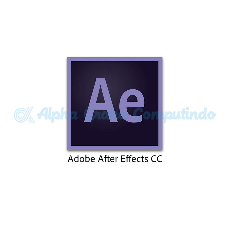 Adobe  After Effects CC for teams Multiple Platforms 1 Year Subscription Level 1 Gov [65297725BC01A12]