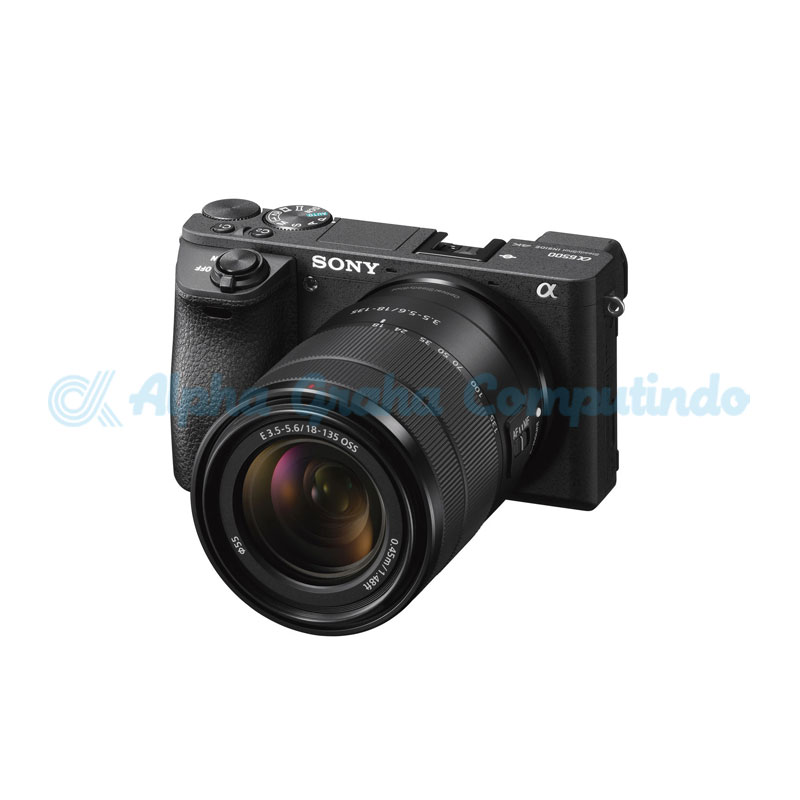Sony   Alpha a6500 Mirrorless Digital Camera with 18-135mm Lens [ILCE-6500M]