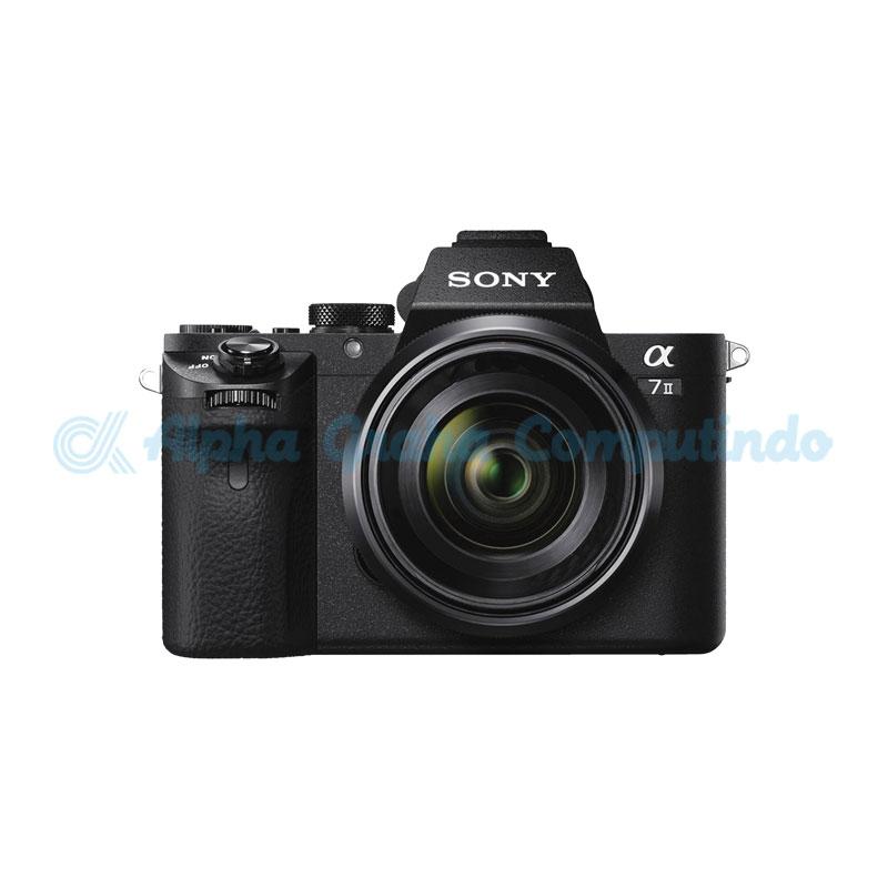 Sony  Alpha a7 Mark II Mirrorless Digital Camera with Lens FE 85mm F1.8 [ILCE-7M2/BQ]