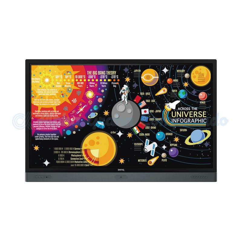 BENQ   65-inch 4K UHD Education Interactive Flat Panel Display [RP6501K]