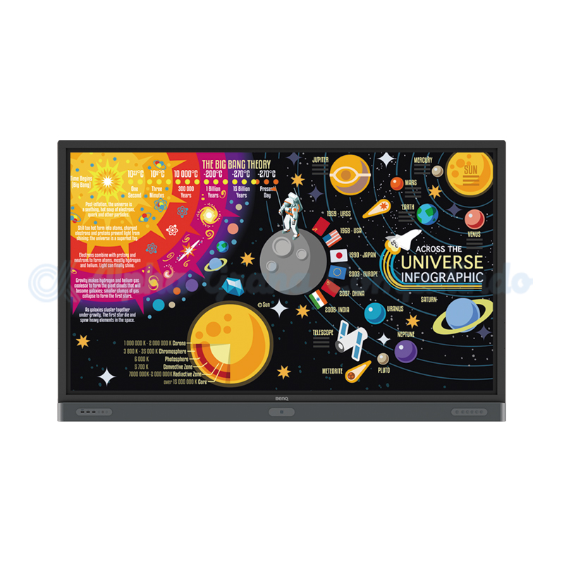 BENQ  75-inch 4K UHD Education Interactive Flat Panel Display [RP7501K]
