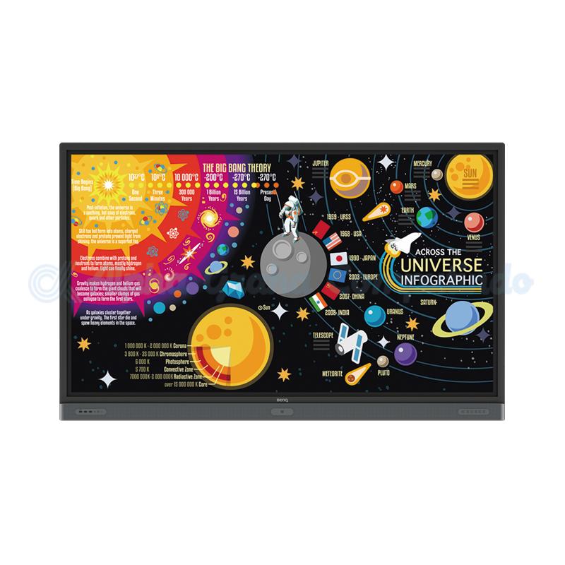 BENQ  86-inch 4K UHD Education Interactive Flat Panel Display [RP8601K]
