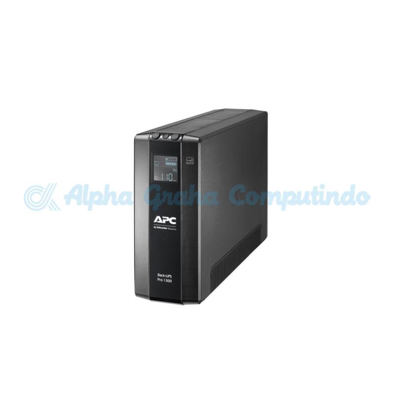 APC Back UPS Pro BR 1300VA, 8 Outlets, AVR, LCD Interface [BR1300MI]