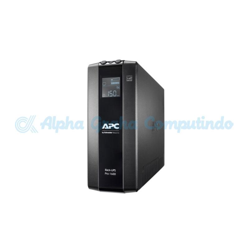 APC Back UPS Pro BR 1600VA, 8 Outlets, AVR, LCD Interface [BR1600MI]