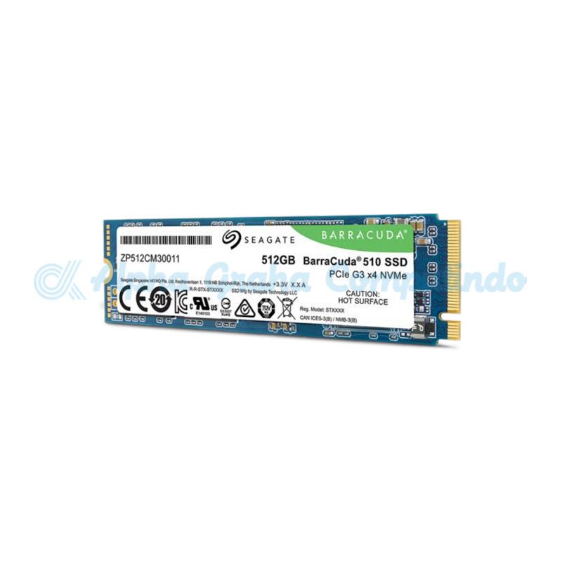 Seagate BarraCuda 510 SSD NVMe 512GB [ZP512CM30041]