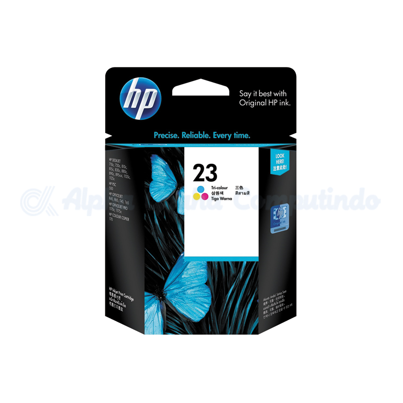 HP Ink Crtg 23D Large Color NAM [C1823D]