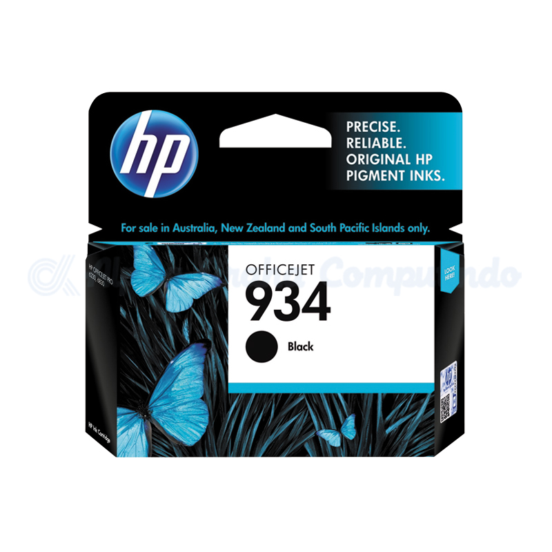 HP 934 Black Ink Cartridge [C2P19AA]