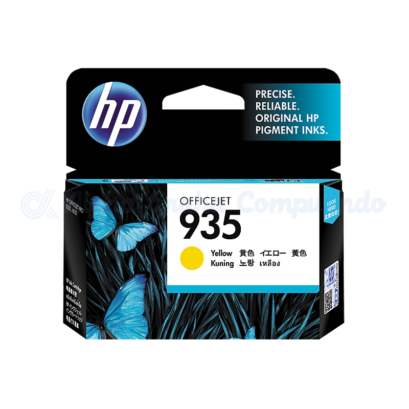 HP 935 Yellow Ink Cartridge [C2P22AA]