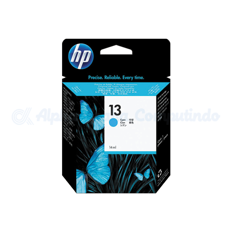 HP 13 Cyan Ink Cartridge [C4815A]