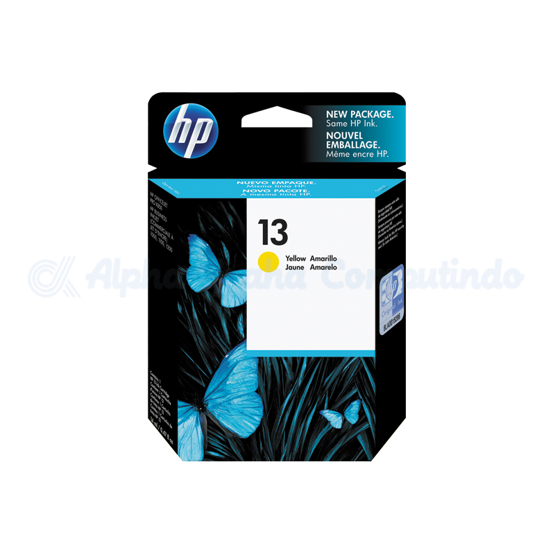 HP 13 Yellow Ink Cartridge [C4817A]