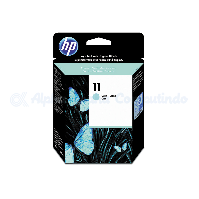 HP 11 Cyan Ink Cartridge [C4836A]