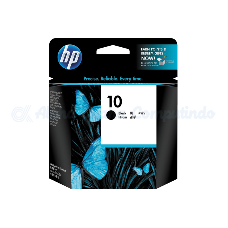 HP 10 Large Black Ink Crtg [C4844A]