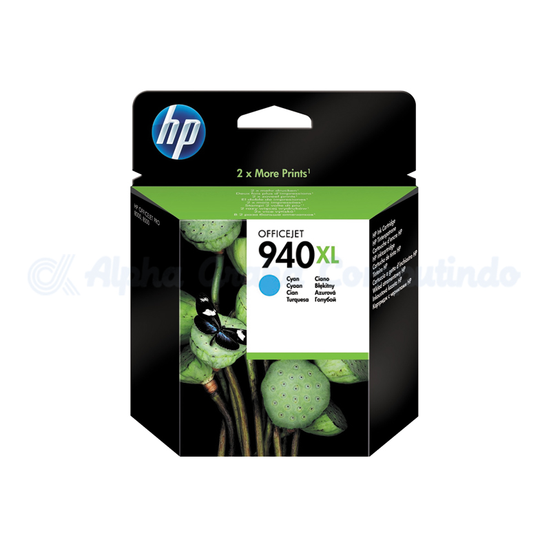 HP 940XL Cyan Officejet Ink Cartridge [C4907AA]