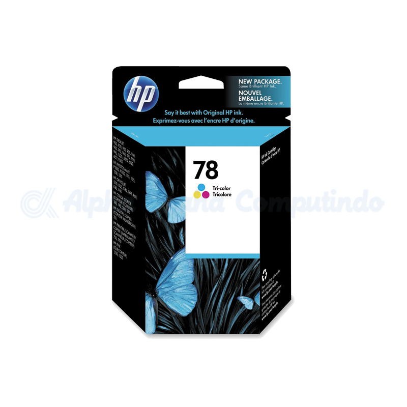 HP 78 Color Ink Cartridge [C6578DA]